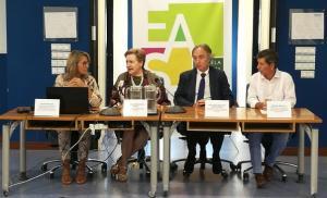 Taller de prevención del suicidio en la Escuela Andaluza de Salud Pública.