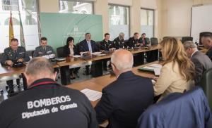 Reunión del Plan de Emergencias, que ha quedado activado.