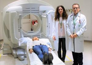 Gammagrafía para detectar la mala absorción biliar.