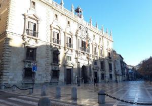 Real Chancillería, sede del TSJA y de la Audiencia de Granada.