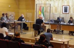 Sesión del juicio con jurado.
