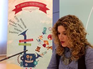 Ana Belén Palomares presenta la campaña.