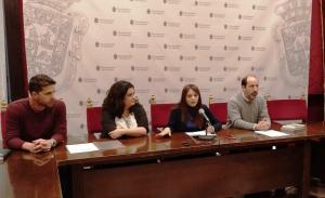 Presentación del acuerdo con la Fundación Atenea.