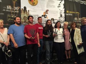 Ganadores en el Festival de Cortos y Salud Mental.