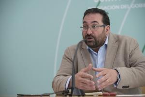 El delegado de Educación, Germán González.