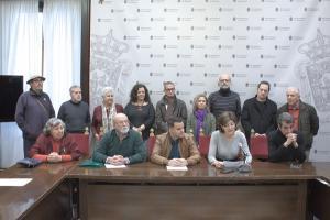 Presentación del acto alternativo y el manifiesto 2 de enero.