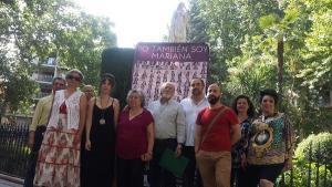Acto de Granada Abierta en mayo del pasado año en la Plaza de la Mariana.