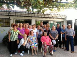 Almagro ha visitado el Centro de La Paz.