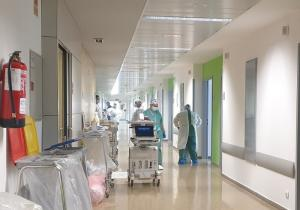 En los hospitales granadinos hay 216 pacientes ingresados.