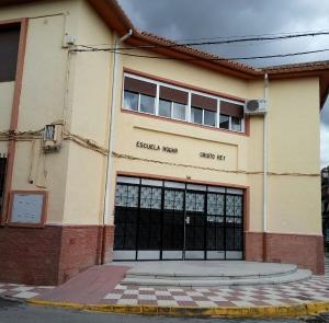 Escuela Hogar 'Cristo Rey', donde se impartirán las clases.