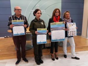 Presentación de las actividades en los humedales de la provincia.