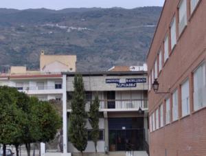 Instituto Alpujarra, en Órgiva.