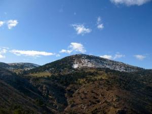 Vista de la Sierra de Baza.