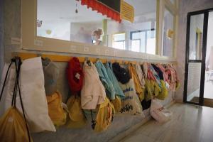 Imagen de archivo de la entrada a un centro infantil.