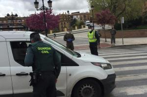 Control a vehículos en Guadix.