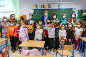 El programa educativo medioambiental, en el colegio público Arrayanes.