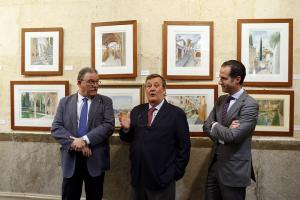 Inauguración de la exposición de Juan Miguel Torres.