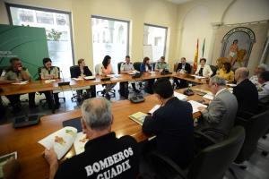 Reunión de coordinación del operativo Infoca.