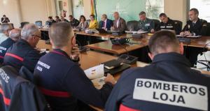 Reunión del Comité Asesor del Plan Infoca de Granada.
