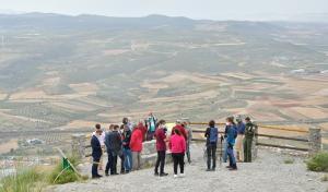 Mirador del Padre Ferrer, en la Sierra del Manar (Padul).