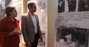 Exposición documental que recorre varias décadas de memoria democrática.