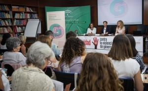 Un momento de las jornadas en el Instituto Andaluz de la Mujer.