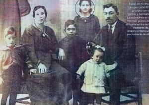 La familia, víctima del horror fascista.