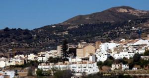 Vista de Lanjarón.