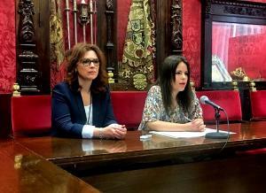 María del Mar Sánchez y Lorena Rodríguez.
