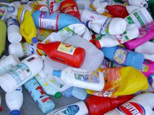 Envases de plástico.