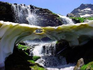 Los Lavaderos de la Reina son uno de los parajes más bellos de Sierra Nevada.