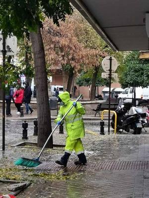 Imagen de una de las jornadas lluviosas de final de octubre.