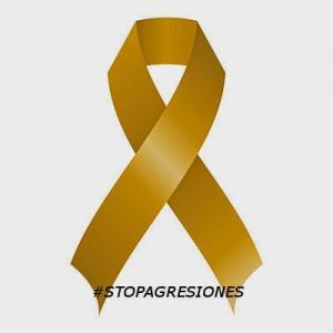 Emblema de la campaña contra las agresiones en el ámbito sanitario.