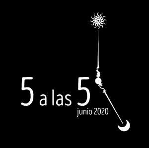 Logotipo del '5 a las 5'de este 2020.