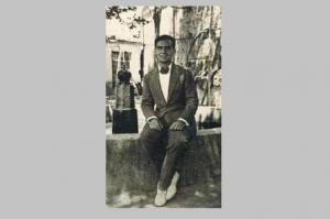 Imagen de Lorca en Lanjarón.