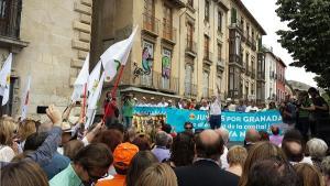 Manifestación del pasado domingo.