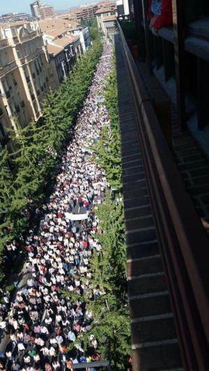 La manifestación del 16O fue la más multitudinaria del los últimos 16 años.