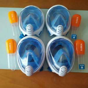 Primeras cuatro máscaras reunidas en Alhama.
