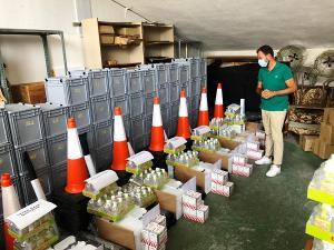 Material preparado para los centros educativos de Almuñécar.