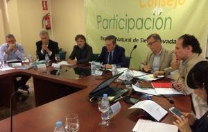 Consejo de Participación de Sierra Nevada, este viernes.