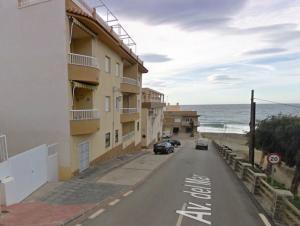 Calle donde ocurrió la caída.