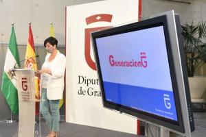 Mercedes Garzón en la presentación de las actividades.
