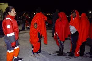 Entre las personas rescatadas, también menores.