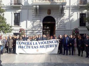 Minuto de silencio este medodía en la Plaza del Carmen.