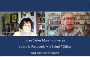Portada de la entrevista de Joan Carlos March con Mónica Lalanda.