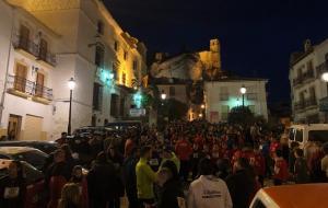 Mucha participación en las calles.