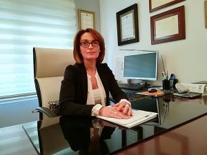 Montserrat Linares Lara, abogada especializada en casos de violencia de género.
