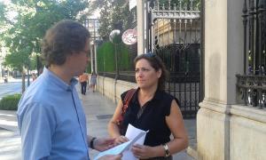 Manuel Morales y María del Carmen Pérez en una imagen de archivo.