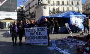 Mujeres de Guadix en la Puerta del Sol.