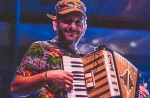 El músico Javier Cuesta.
